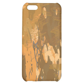 Arid Desert Bark Camouflage Case For iPhone 5C