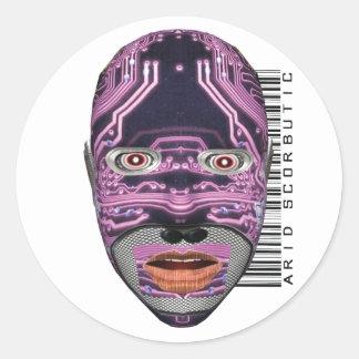 Arid Scorbutic Classic Round Sticker
