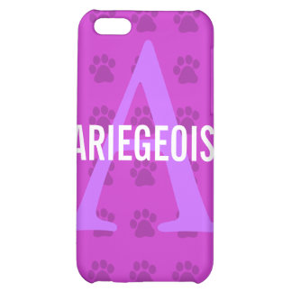 Ariegeois Breed Monogram Case For iPhone 5C