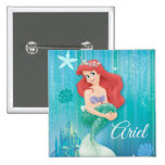 Ariel and Castle Pins