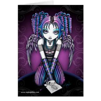 Ariel Emo Angel Card