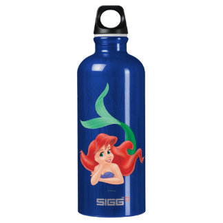 Ariel Laying Down Water Bottle