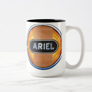 Ariel Motorcycle of britain Two-Tone Coffee Mug