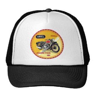 Ariel square four vintage motorcycle cap