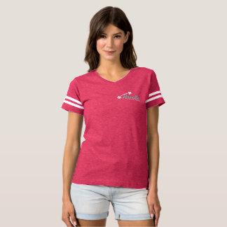 Arielle Crumble Fitness Shirt Stripes