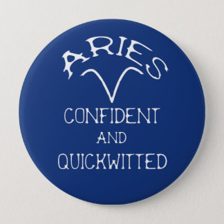 Aries 10 Cm Round Badge