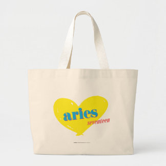 Aries 3 large tote bag