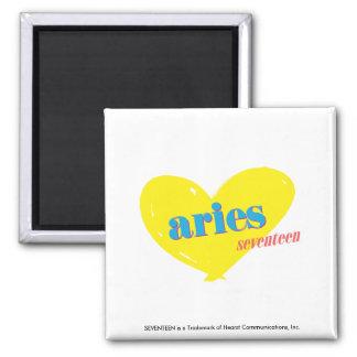 Aries 3 refrigerator magnet