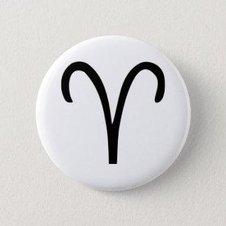 Aries 6 Cm Round Badge