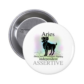 Aries About You 6 Cm Round Badge