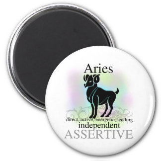 Aries About You 6 Cm Round Magnet