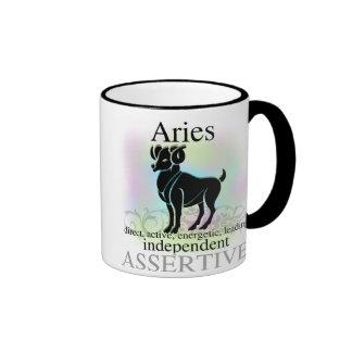 Aries About You Ringer Mug