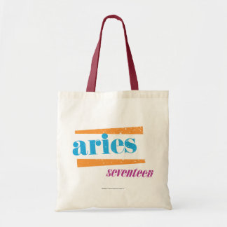 Aries Aqua Tote Bag