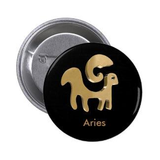 Aries, Ariete 6 Cm Round Badge