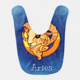 Aries ariete baby bibs