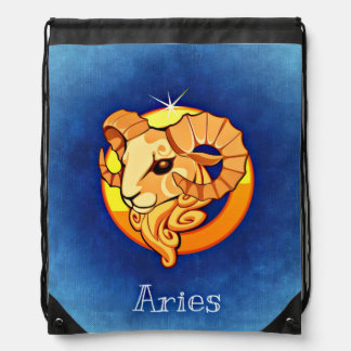 Aries, Ariete Drawstring Bag