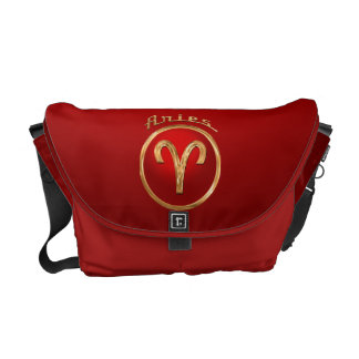 Aries Astrological Sign Messenger Bags
