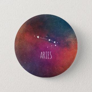 Aries Astrology 6 Cm Round Badge
