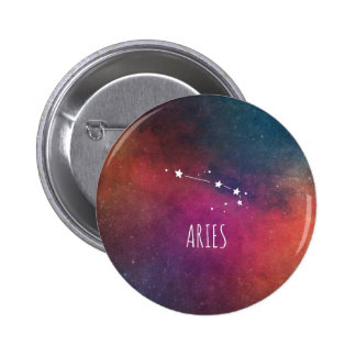 Aries Astrology 6 Cm Round Badge