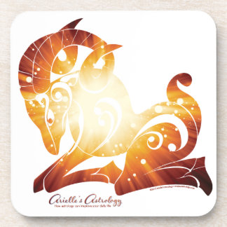 Aries Astrology Coaster