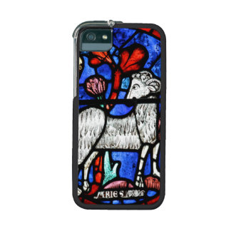 Aries Astrology - Gothic Stained Glass Iphone Case iPhone 5 Case