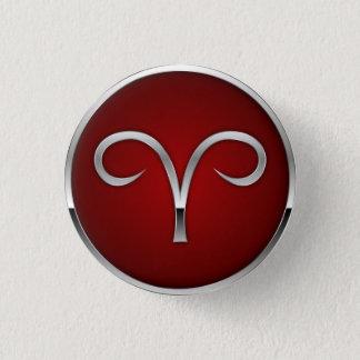 Aries Astrology Zodiac Sun Sign Button