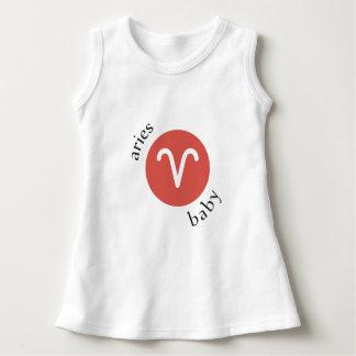 Aries Baby Symbol Dress