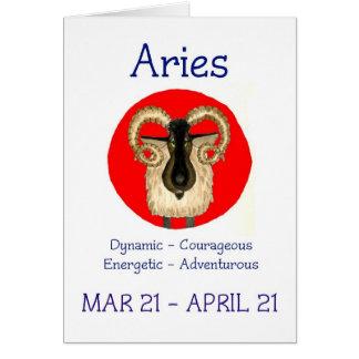 Aries Birthday Card
