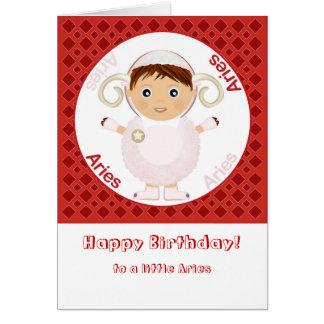 Aries Boy - Happy Birthday Greeting Card