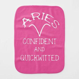 Aries Burp Cloth