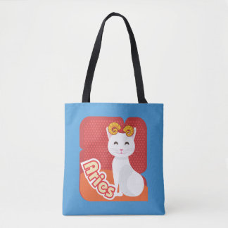 Aries Cat - TB101 Tote Bag