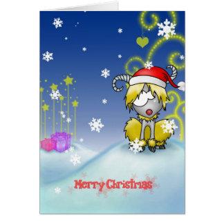 Aries Christmas card