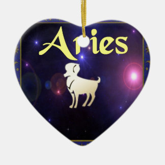 Aries Christmas Ornament