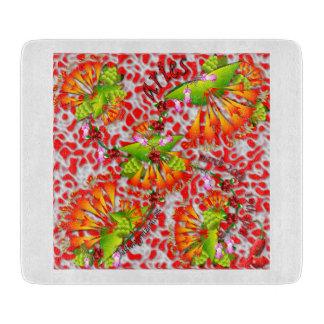 Aries colourful glass cutting board. cutting board