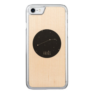 Aries Constellation Carved iPhone 8/7 Case