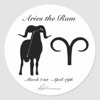Aries Constellation/Zodiac Stickers