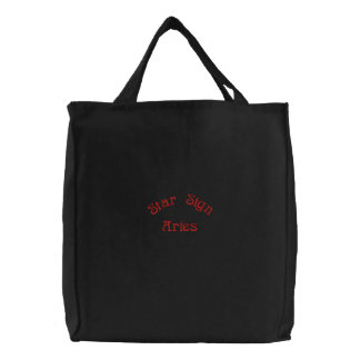 ARIES EMBROIDERED BAG