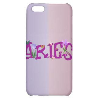 Aries Flowers iPhone 5C Cases