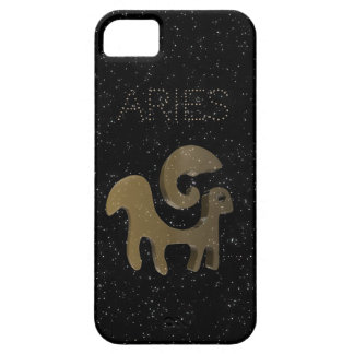 Aries golden sign iPhone 5 case