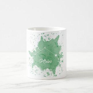 Aries Green Mug