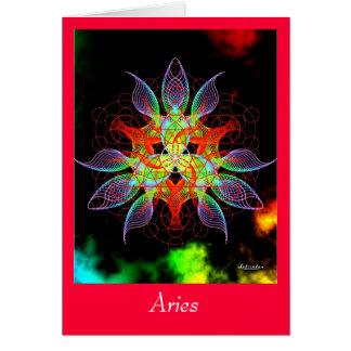 Aries Greeting Card
