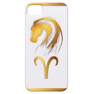 Aries + Horse - Chinese and Western Astrology iPhone 5 Covers