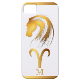 Aries + Horse - Chinese and Western Astrology iPhone 5 Cases