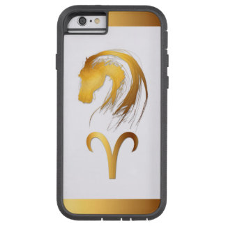 Aries + Horse - Chinese and Western Astrology Tough Xtreme iPhone 6 Case