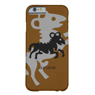 Aries in black barely there iPhone 6 case