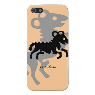 Aries in black case for iPhone 5
