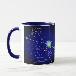 Aries in the year of the Sheep Mug