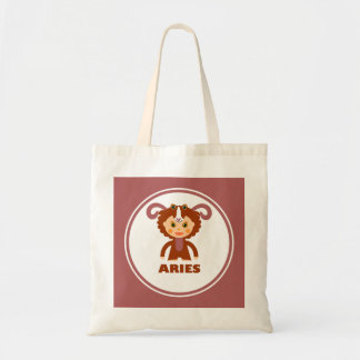 Aries is my Zodiac Sign Budget Tote Bag