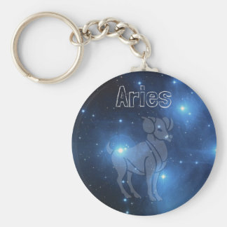 Aries Key Ring