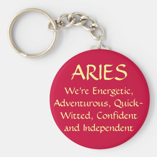 ARIES KEY RING